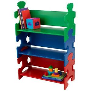 Bücherregal Puzzle (Primärfarben) - Kidkraft (14400)