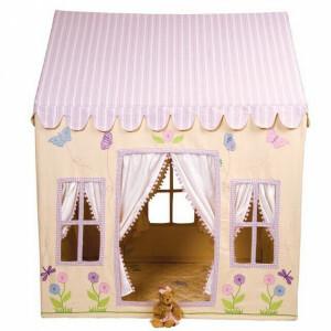 Win Green Butterfly Playhouse (Groß) + Floor Quilt