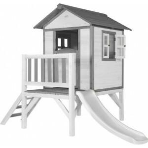 AXI Beach Lodge XL Playhouse Classic - Weiße Rutsche