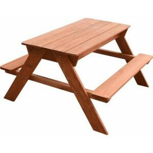 Sunny Dave Sand & Water Picknicktisch Braun Sie