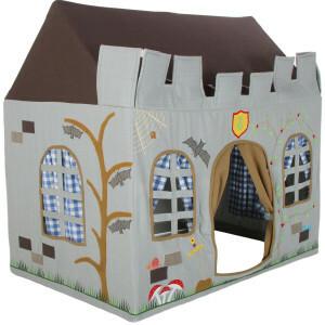 Win Green Knight's Castle Playhouse (klein) + Floor Quilt