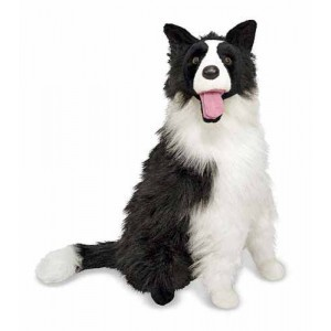 Plüschtier Hund Border Collie Kelby