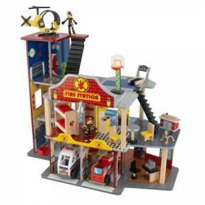 Deluxe Feuerwache Set - Kidkraft (63214)