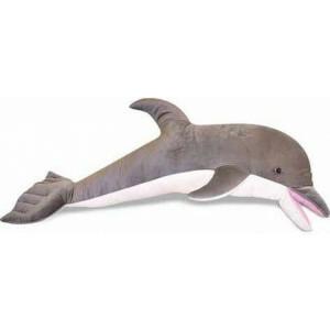 Riesiges Plüschspielzeug Delfin Calypso