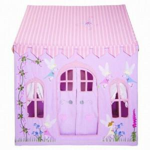 Fairy Cottage Playhouse (Klein) + Floor Quilt Win Green