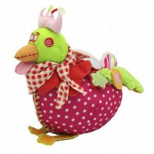 Sweet Chick Rosa Kuscheltier/Nachtlampe