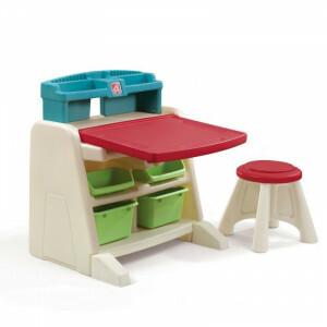 Flip & Doodle Staffelei Art Schreibtisch mit Stuhl - Step2 (836500)