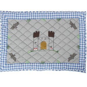 Knight's Castle Playhouse Floor Quilt (Win Green – Groß)