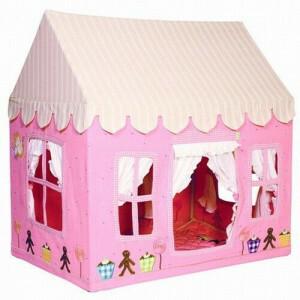 Gingerbread Cottage (Groß) + Floor Quilt Win Green