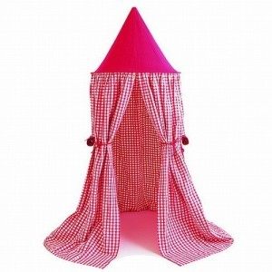Hanging Tent Cherry Red (Win Green – Spielzelt)