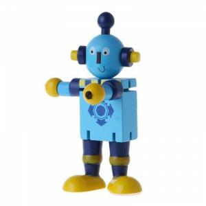 Gelenkfigur Roboter Holz