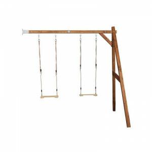 AXI Doppelschaukel-Rahmen Wandmontiert Braun A030.144.00