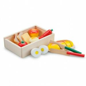 Holz Frühstück Schneidsatz in einer Box - New Classic Toys (0580)
