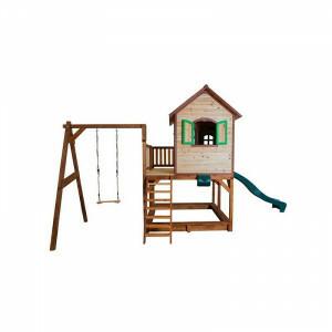 Spielhaus Liam mit Einzel-Schaukel Axi A030.152.00
