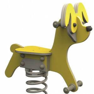 Federwippe - Hund