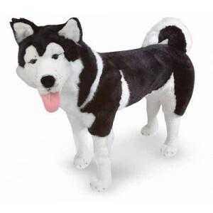 Plüschtier Hund Husky Kyra