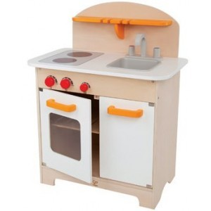 Holzküche Weiß – Hape – Mit kostenlosem Zubehör