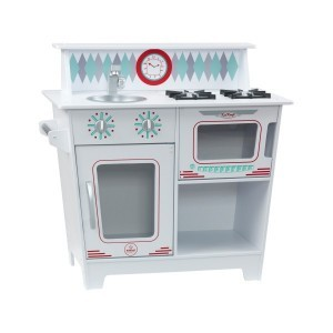 Klassische Küchenzeile (Weiß) - Kidkraft (53384)