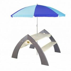 Picknicktisch + Sonnenschirm Kylo XL - AXI (A031.022.00)