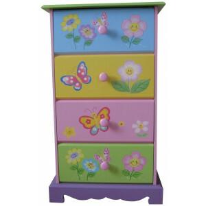 Butterfly Garden 4 Schublade (LHT10062)