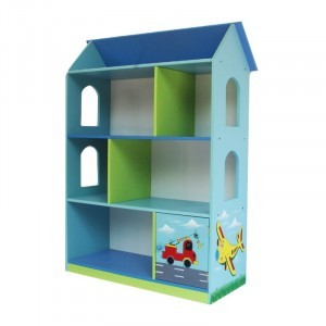 Transport Spielzeug Dollhouse Bookshelf Mit Cupboard -  (Liberty-13)