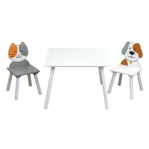 Katzen- und Hundetisch und Stuhle