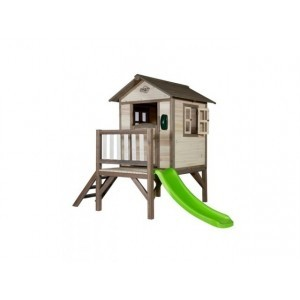 Lodge Playhouse XL (grau/weiß) - Sunny