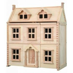 Hölzernes Viktorianisches Puppenhaus