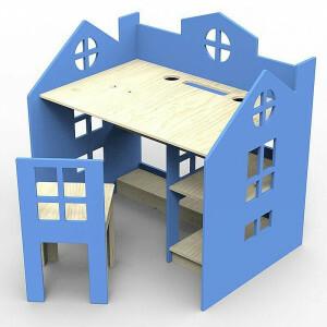 Princessa Blauer Schreibtisch