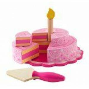Rosa Geburtstagstorte mit Schichten - Kidkraft (63382)
