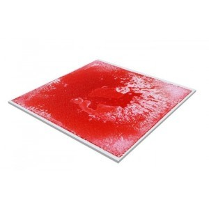 Gel Bodenfliese Rot