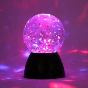 Sensorisches Glitzer-wasserballlicht