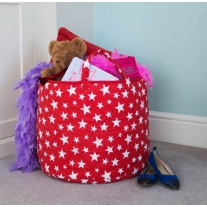 Stern Spielzeugkorb (Rot) - Kiddiewinkles (REDSTB)