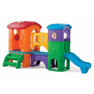 Spielplatzgerat Clubhouse Climber Multicolor - Step2 (802300)