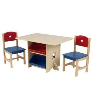 Tisch-Set Stern mit 2 Stühlen - Kidkraft (26912)