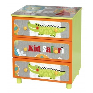 Kid Safari 3 Schubladenschrank -  (TF4801)