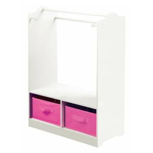 Weißes Holzkleid mit Aufbewahrungsbehältern -  (TF4917)