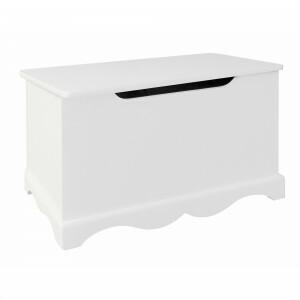 Weiße Holzspielzeugkiste -  (TF5302)