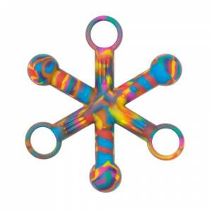 Sensory Chewigem Tie Dye Hexichew Tactile Chewing Zappeln Spielzeug