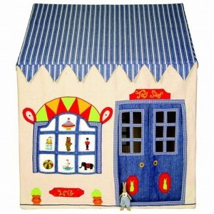 Win Green Toy Shop Playhouse (Groß) + Floor Quilt