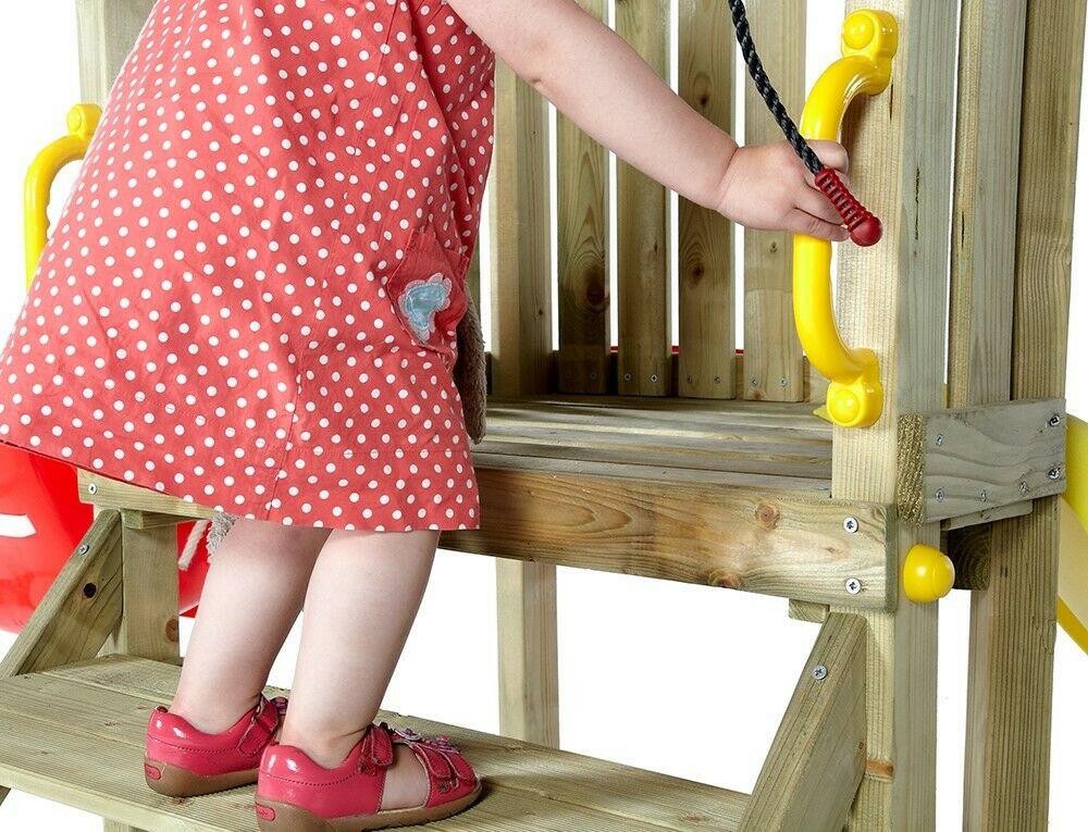 Plum Klettergerüst : Holz knirps klettergerüst mit schaukel und rutsche plum 7092133