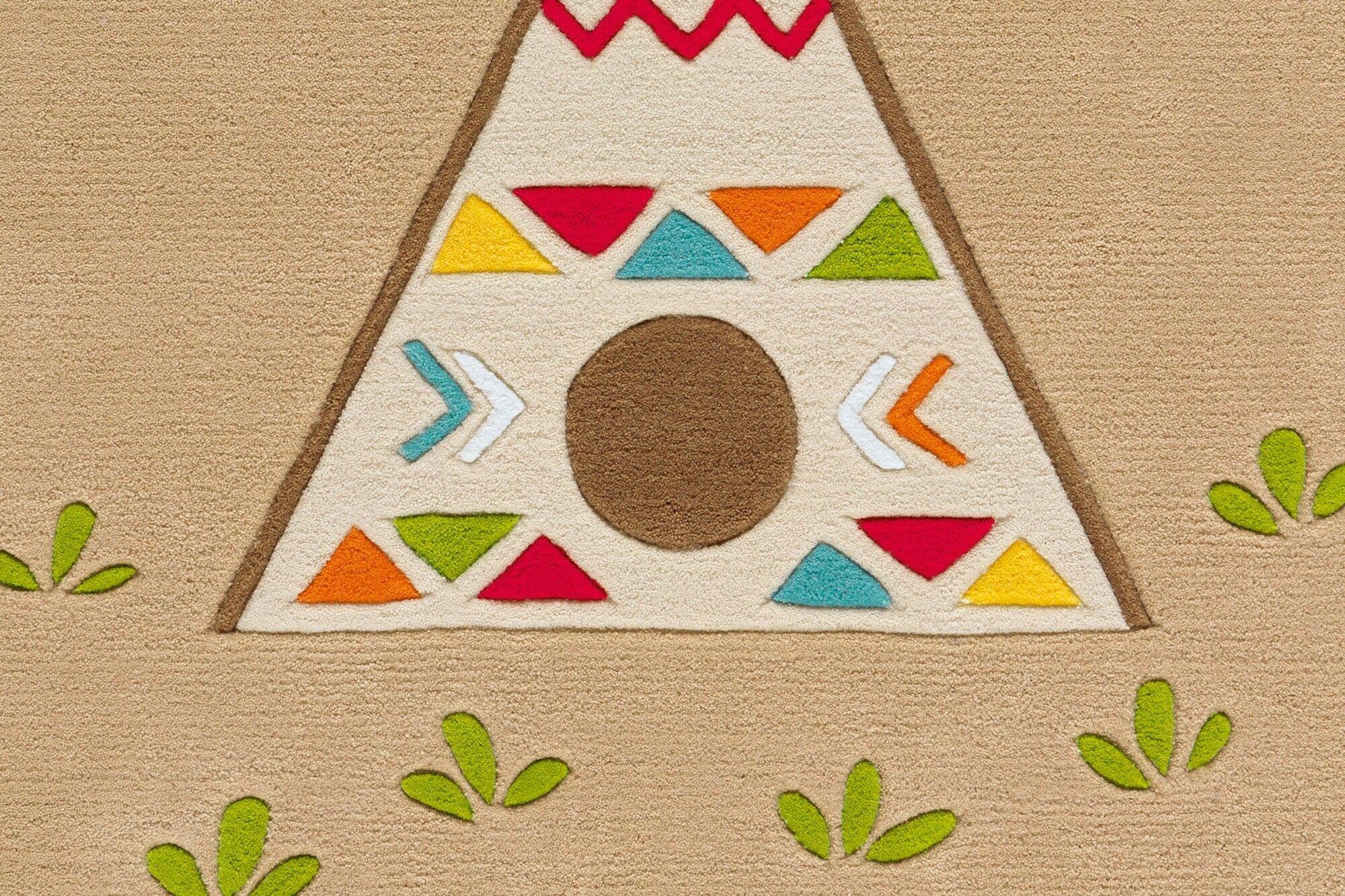 Kinder Teppich Multi Indianer Per Sempre Toys