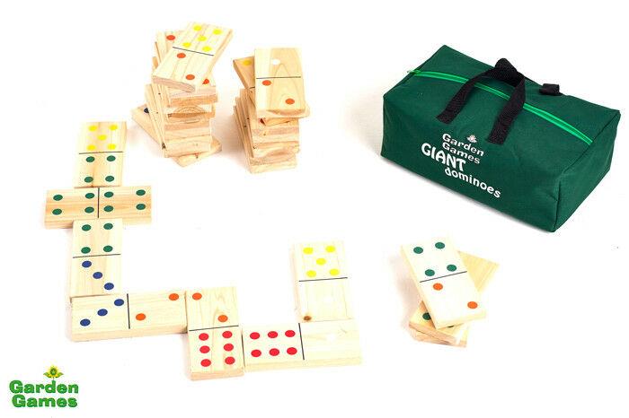 Bild von Mega Domino im Beutel - Garden Games